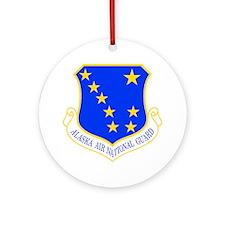 Alaska ANG Ornament (Round)