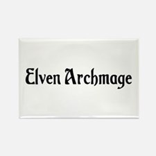 Elven Archmage Rectangle Magnet