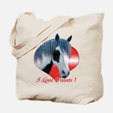 I Love Paints Tote Bag