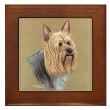 Silky Terrier Framed Tile