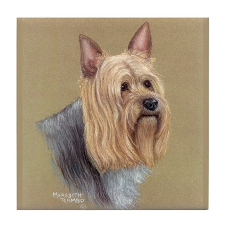 Silky Terrier Tile Coaster