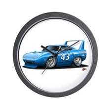 Superbird Petty Nascar Wall Clock