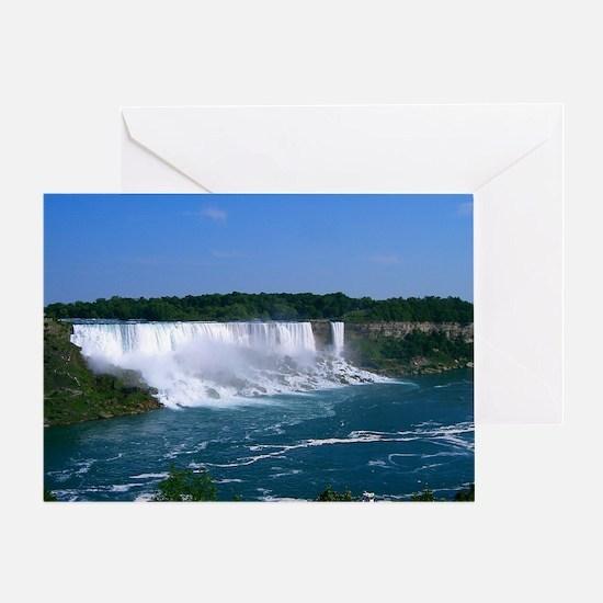 American Niagara Falls Greeting Card