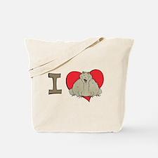 I heart toads Tote Bag