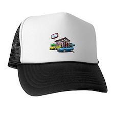 Superbird Gas station scene Trucker Hat