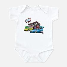 Superbird Gas station scene Infant Bodysuit