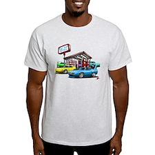 Superbird Gas station scene T-Shirt