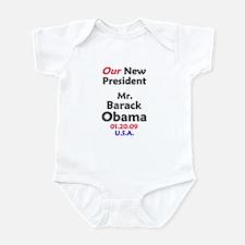 Mr. President Inauguration Obama Infant Bodysuit