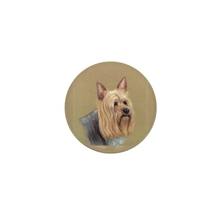 Silky Terrier Mini Button (10 pack)