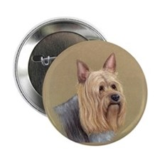 "Silky Terrier 2.25"" Button"