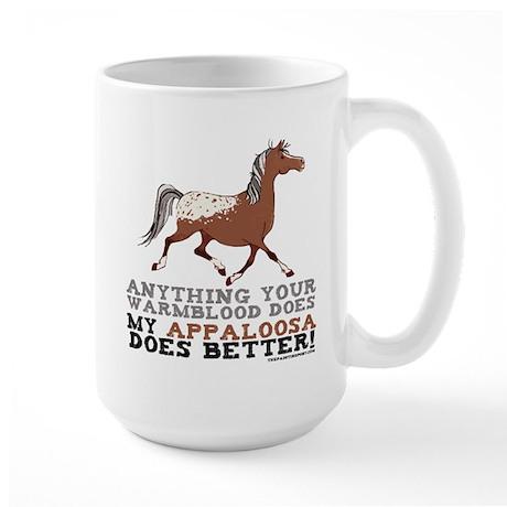 Appaloosa Horse Large Mug
