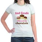 Funny 2nd Grade Jr. Ringer T-Shirt