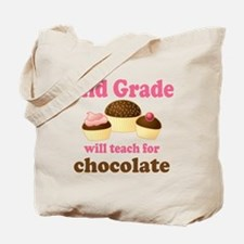 Funny 2nd Grade Tote Bag