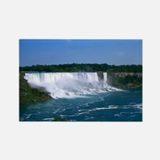 American Niagara Falls Rectangle Magnet