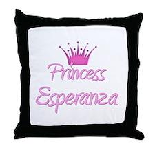 Princess Esperanza Throw Pillow