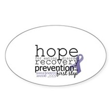 hope Oval Decal