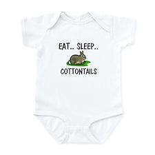 Eat ... Sleep ... COTTONTAILS Infant Bodysuit