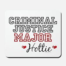 Criminal Justice Major Hottie Mousepad