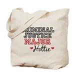 Criminal Justice Major Hottie Tote Bag