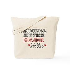 Criminal Justice Major Hottie Tote Bag