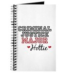 Criminal Justice Major Hottie Journal