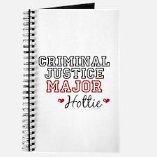 Criminal Justice Major Hottie Journal