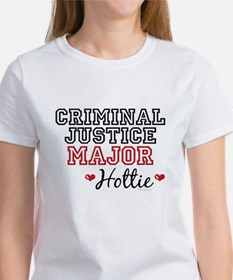 Criminal Justice Major Hottie Tee