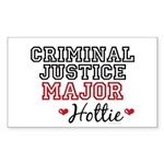 Criminal Justice Major Hottie Rectangle Sticker 5