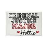 Criminal Justice Major Hottie Rectangle Magnet (10