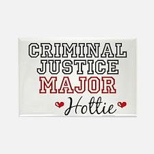 Criminal Justice Major Hottie Rectangle Magnet