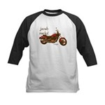 Twilight Jacob Motorcycle Kids Baseball Jersey