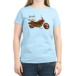 Twilight Jacob Motorcycle Women's Light T-Shirt