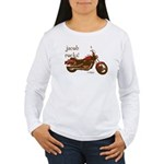 Twilight Jacob Motorcycle Women's Long Sleeve T-Sh