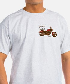 Twilight Jacob Motorcycle T-Shirt