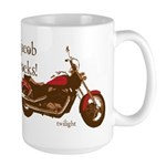 Twilight Jacob Motorcycle Large Mug