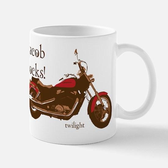 Twilight Jacob Motorcycle Mug