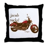 Twilight Jacob Motorcycle Throw Pillow