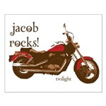 Twilight Jacob Motorcycle Small Poster