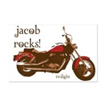 Twilight Jacob Motorcycle Mini Poster Print