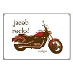 Twilight Jacob Motorcycle Banner