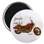 Twilight Jacob Motorcycle Magnet
