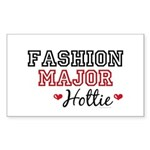 Fashion Major Hottie Rectangle Sticker 50 pk)