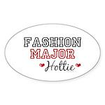 Fashion Major Hottie Oval Sticker (10 pk)