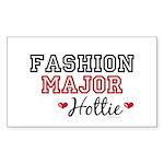 Fashion Major Hottie Rectangle Sticker