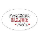 Fashion Major Hottie Oval Sticker