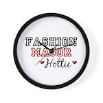 Fashion Major Hottie Wall Clock