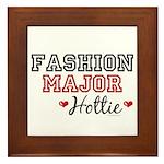 Fashion Major Hottie Framed Tile