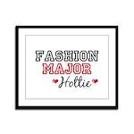 Fashion Major Hottie Framed Panel Print