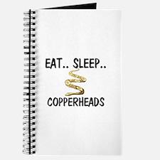 Eat ... Sleep ... COPPERHEADS Journal