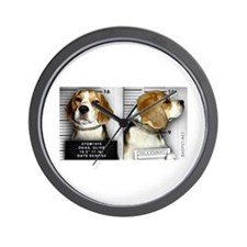 Cute Beagle Wall Clock